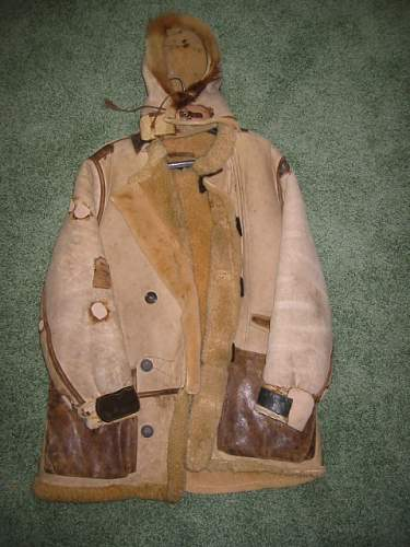 WWII US B-7 parka info needed.