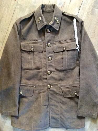 Pre-war RA Service Dress