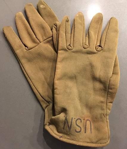 U.S.N. Gloves