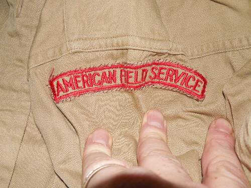 Named American Field Service collection