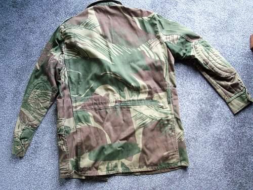 post war sniper smock for identification please