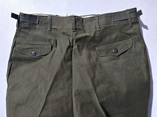 M1951 Wool Field Trousers