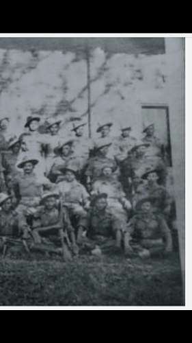 Nepalese uniform 1943-44, Kohima.