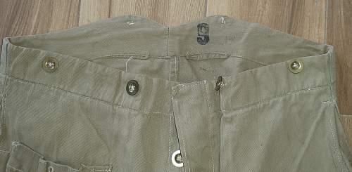 British trousers identification