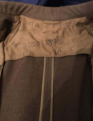 20th Air Force jacket with soldier info