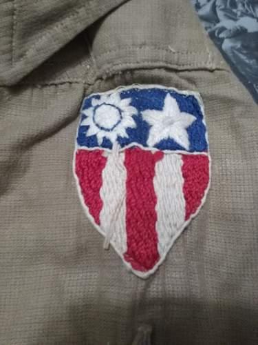 CBI Tunic and Shirt to Sgt