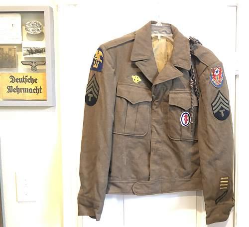 Amphibious Ike jacket
