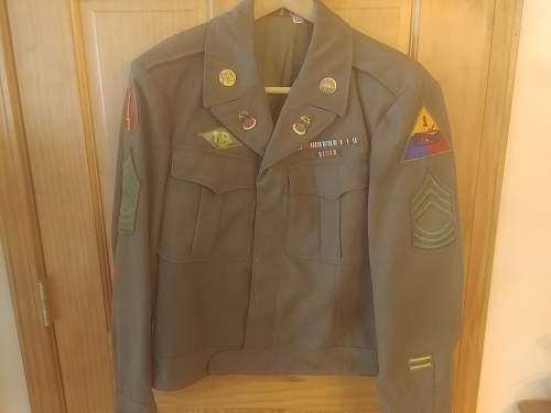 1st armored Ike