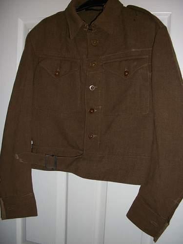 1940 pattern battle dress blouse (I think)