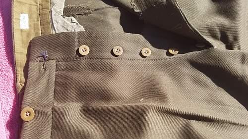 WWII Australian SD Uniform