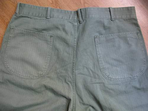 Are these ww2 usmc M1941 HBT trousers??