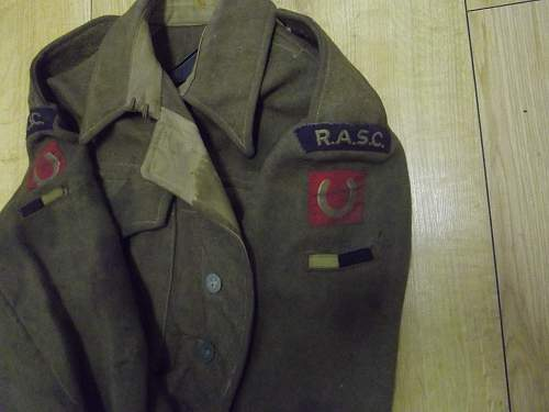 1937 Patton battledress   is it or not  British