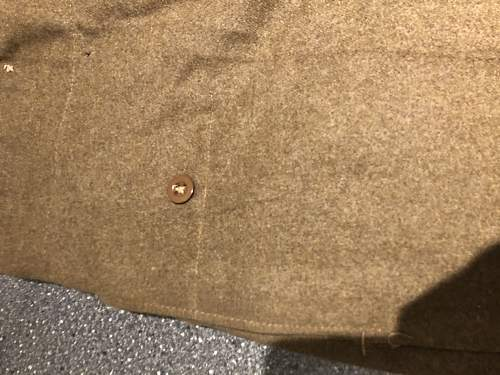 Battledress trousers P40 without pockets