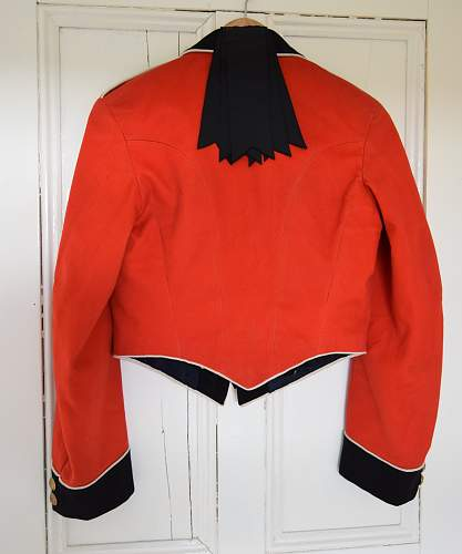 Royal Welch Fusiliers Territorial Force 2nd LT mess dress