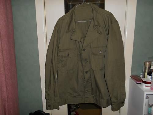 Jacket Herringbone Twill Special US 4th Patt