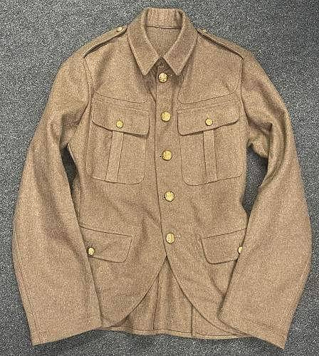 Scottish OR's Service Dress