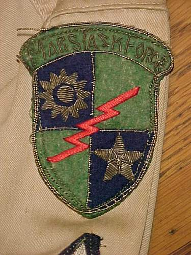 Mars Task Force patch
