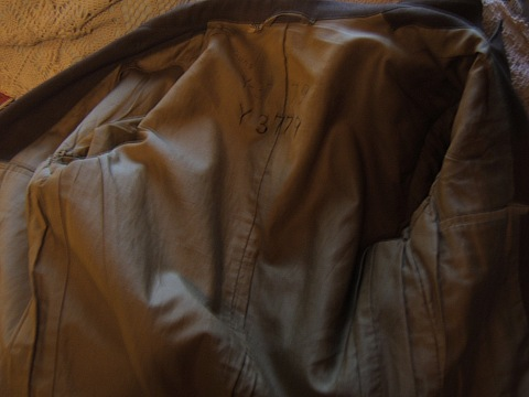 WW2 jacket of US 2nd Armored Division