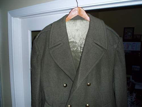 Paul Boye mens greatcoat