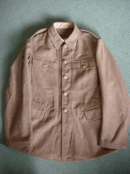 Click image for larger version.  Name:Other Ranks Service Dress jacket. 001.jpg Views:206 Size:153.1 KB ID:18530