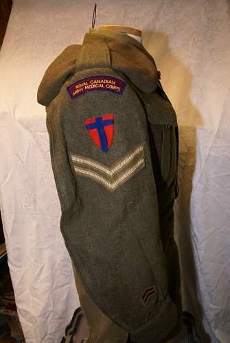 RCAMC Battle Dress