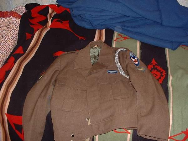 US 11th Airborne Ike Jacket