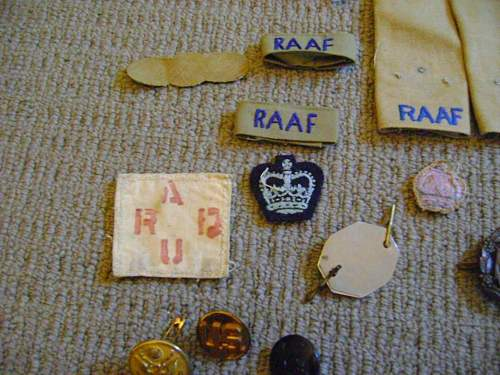 Help with Raaf Uniforms