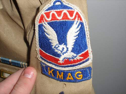 I need assistance with this Uniform, American?