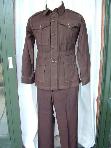 Need info on Australian uniform