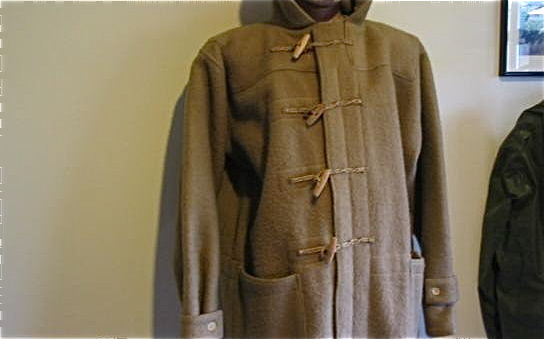 1944 British issue duffle coat