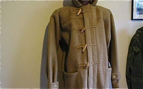 1944 British issue duffle coat