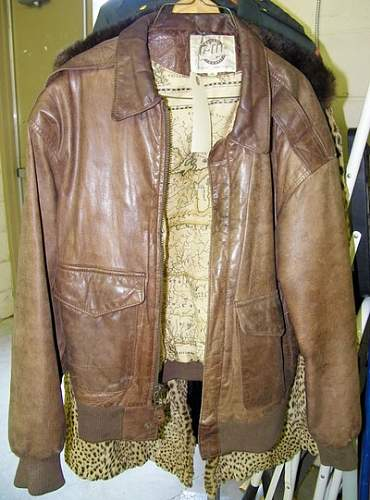 USAAF A2 flying jacket: could this be ww2?