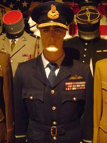 My air commodore uniform