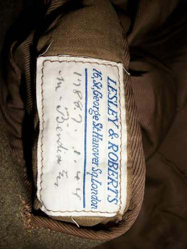 British Officers greatcoat