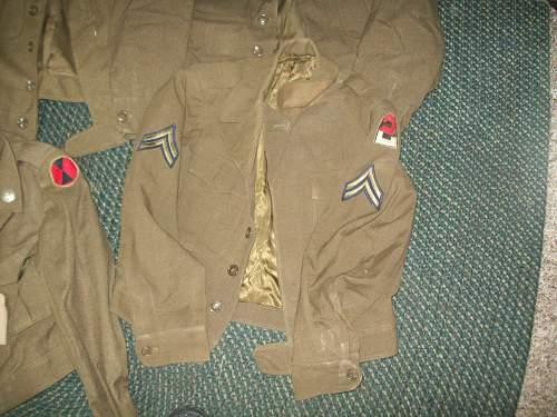 US WW2 Uniforms
