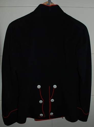 Norwegian parade jacket