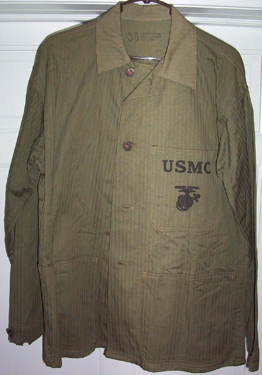 Mint, matched WWII USMC P1941 Utility Uniform from my 4th ...