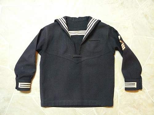 Small childs U.S. navy uniform
