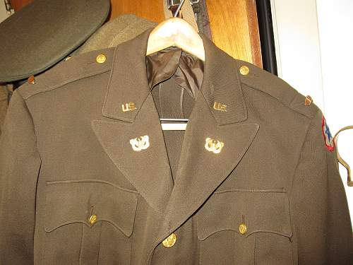 US Warrant Officer jacket and Cap