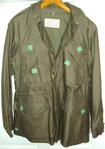 A Pair of Mint WWII 1943 Jackets both with cutter tags and QM tags. Never worn or issued.