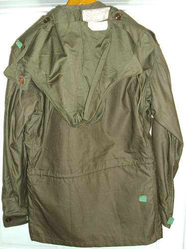 Click image for larger version.  Name:M1943 jacket back first.jpg Views:189 Size:129.8 KB ID:241507