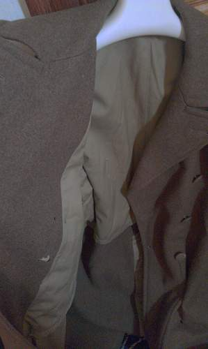 My WW2 Dated 1945 U.S Wool Trench Coat