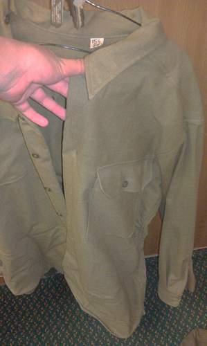 My Great Uncles World War 2 Uniform