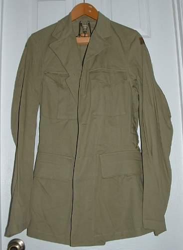 Unissued 1943 RCAF Tropical SD Uniform