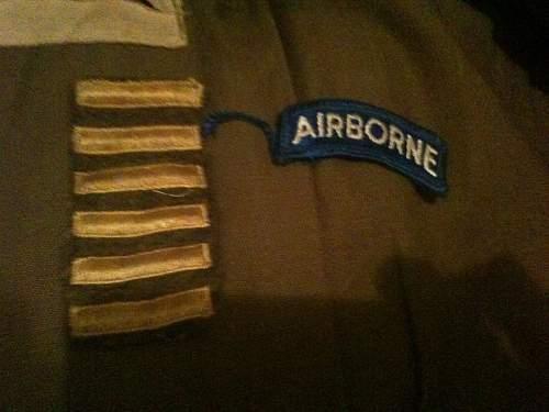 Ike Jacket, Airborne?