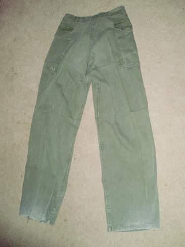 US Army 1st Patt HBT Jacket