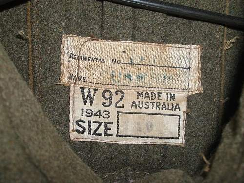 Aussie Great Coat 42