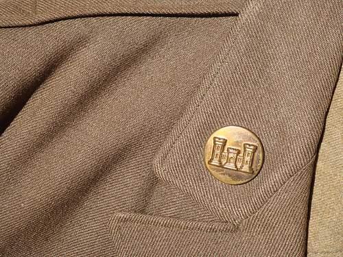 I picked up these 3 uniforms + ike jacket + wool coat