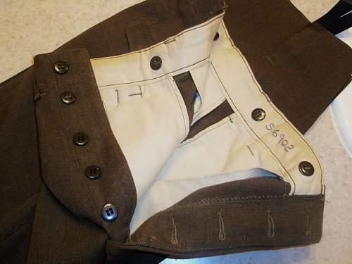U.S. Field Pants