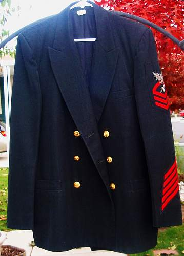 Could Someone Put A Date on This Navy Jacket & Insignia?